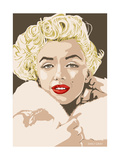 Marilyn - Gentlemen Prefer Blondes Giclee Print by Emily Gray