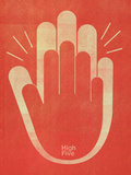 High Five Giclee Print by Dale Edwin Murray