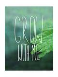 Grow with Me Giclée-Druck von Leah Flores