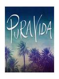 Pura Vida Giclée-Druck von Leah Flores