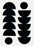 Tropisk Giclee-trykk av Seventy Tree