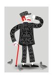 Pearly King Impressão giclée por Chris Wharton
