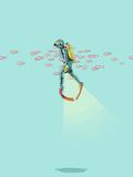 Im Meer Giclée-Druck von Jason Ratliff