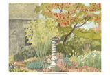 Watercolor Garden I Prints by Dianne Miller