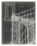 Iconic Blueprint I Reproduction procédé giclée par Ethan Harper