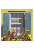 Window Floral I Poster by Rick Novak