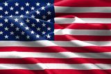American Flag. Fotografisk trykk av  Xtremer