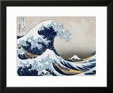 The Great Wave at Kanagawa (from 36 views of Mount Fuji), c.1829 Prints by Katsushika Hokusai