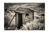 Old Outhouse in the Field Photographic Print by George Oze