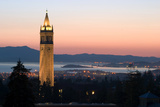 Berkeley University Clock Tower Photographic Print by Rafael Ramirez