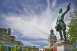 Statue of Karl XII in Kungstradgarden Photographic Print by Jon Hicks