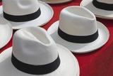 Panama Hats for Sale. Photographic Print by Jon Hicks