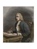Portrait of Jean Philippe Rameau Reproduction procédé giclée par Stefano Bianchetti