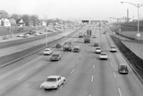 Traffic in Chicago, Illinois, Ca. 1962. Photographic Print by Kirn Vintage Stock