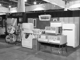 Appliance Display at a Home Show in Chicago, Ca. 1956. Photographic Print by Kirn Vintage Stock