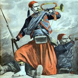 Souave Bugler Alexandre Baudet at Siege of Malakoff Sevastopol Photographic Print by Chris Hellier