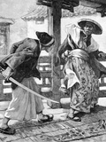 Revenge of the 47 Ronin. Samurai Tale & Code of Honor Photographic Print by Chris Hellier
