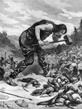 Giant Killing Saracens 1897 Photographic Print by Chris Hellier