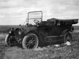 A Period Automobile Appears Stuck in the Mud, Ca. 1920. Photographic Print by Kirn Vintage Stock