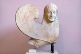 Ancient Greek Sphinx Sculpture Photographic Print by Chris Hellier