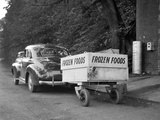 Frozen Food Trailer in Chicago, Ca. 1940. Photographic Print by Kirn Vintage Stock