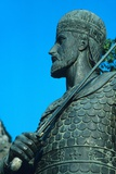 Detail of Statue of Constantine XI Palaiologos Photographic Print by Chris Hellier