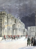 Winter Palace Saint Petersburg 1897 Photographic Print by Chris Hellier