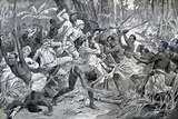 Colonial Struggle in Benin 1897 Photographic Print by Chris Hellier