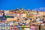 Cagliari, Sardinia, Italy Old Town Skyline. Photographic Print by  SeanPavonePhoto