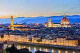 Florence, Italy Fotografisk tryk af  sorincolac