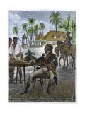 Portrait of Haitian Patriot Toussaint Louverture Reproduction procédé giclée par Stefano Bianchetti