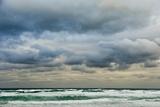 Clouds over Rough Sea Fotografie-Druck von Norbert Schaefer