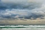 Clouds over Rough Sea Photographic Print by Norbert Schaefer