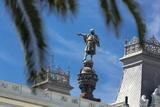 Columbus Monument, Barcelona. Photographic Print by Jon Hicks