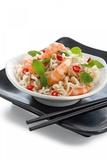Noodle Dish with Prawns Fotografisk tryk af Fabio Petroni