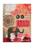 Be Kind Giclée-Premiumdruck von Katie Doucette