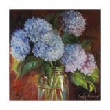 Lilacs and Copper Affiche par Cheri Wollenberg