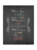 There Is God Posters by Jo Moulton