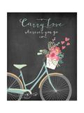 Carry Love Pósters por Jo Moulton