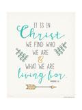 Find Christ Print by Jo Moulton