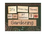 Tuinieren Print van Katie Doucette