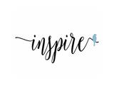 Inspire Blue Bird Giclée-Premiumdruck von Tara Moss