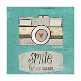 Lächeln Giclée-Premiumdruck von Katie Doucette