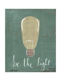 Be the Light Giclée-Premiumdruck von Katie Doucette