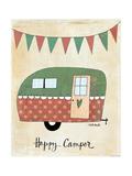 Happy Camper Affiches par Katie Doucette