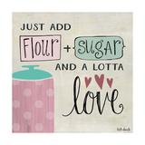 Flour Sugar and a Lotta Love Posters tekijänä Katie Doucette
