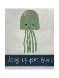 Hang Up Your Towel Art by Katie Doucette