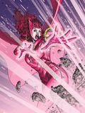 Avengers No.81 Cover: Scarlet Witch Plastic Sign by Scott Kolins