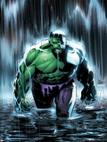 Incredible Hulk No.77 Cover: Hulk Plastic Sign by Lee Weeks
