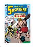 Tales Of Suspense: Iron Man No.42 Cover: Iron Man and Gargantus Plastic Sign by Jack Kirby